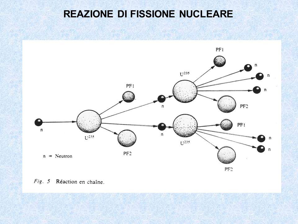REAZIONE DI FISSIONE NUCLEARE