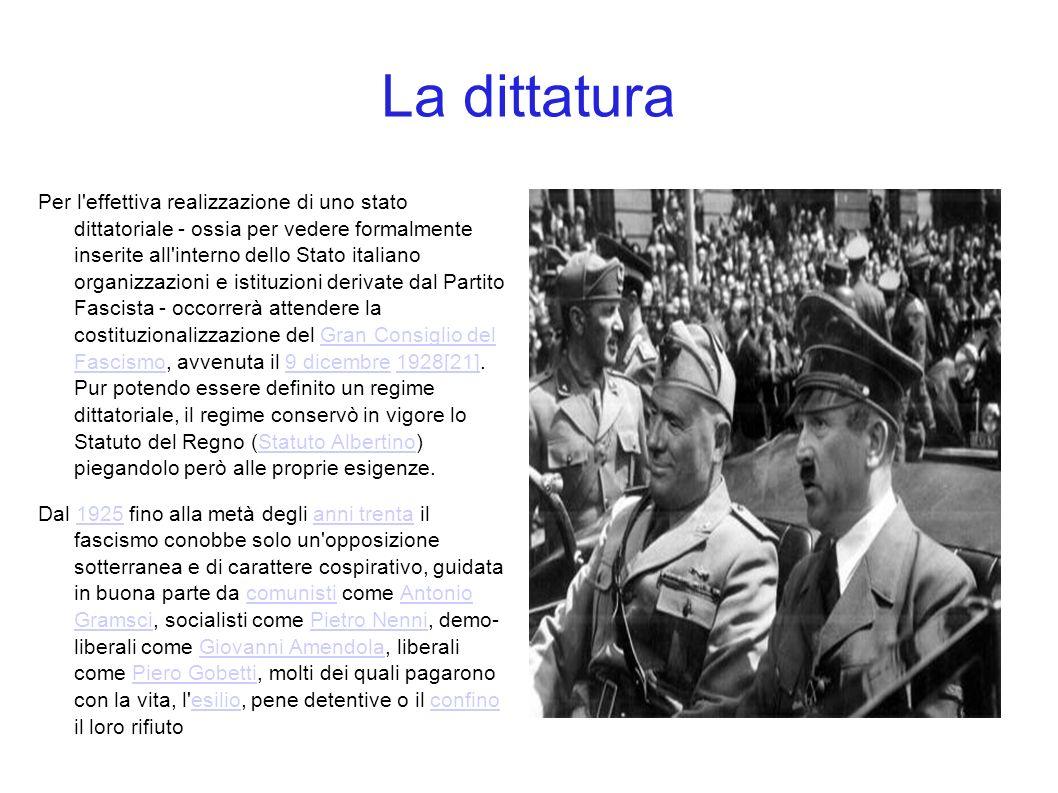 La dittatura