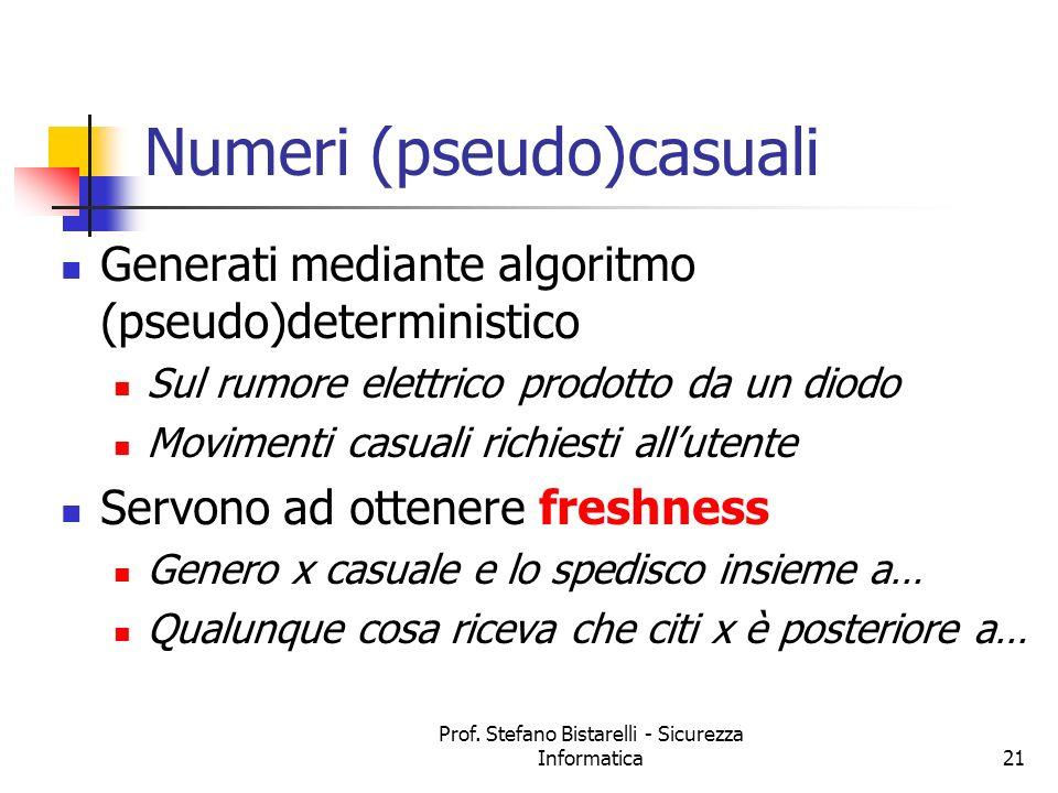 Numeri (pseudo)casuali