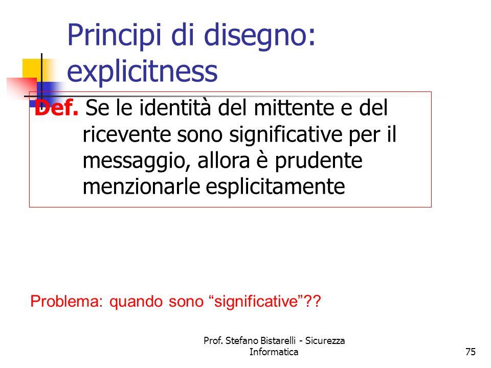 Principi di disegno: explicitness
