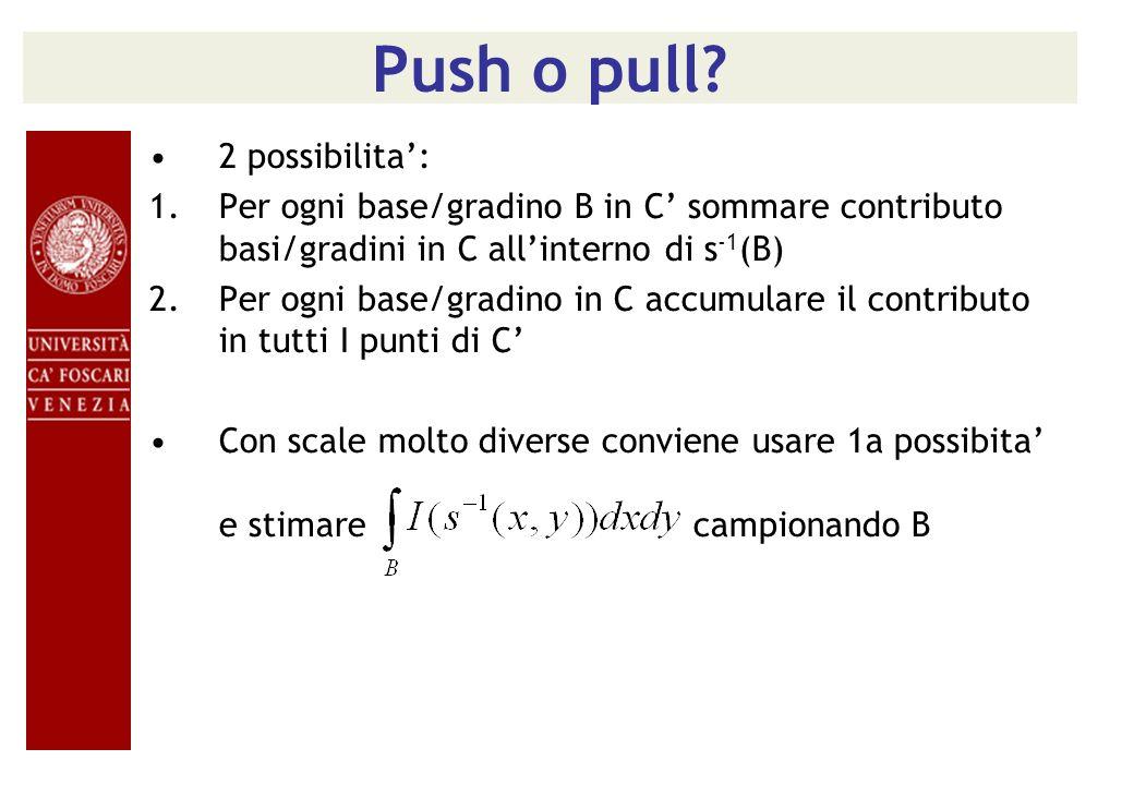 Push o pull 2 possibilita':