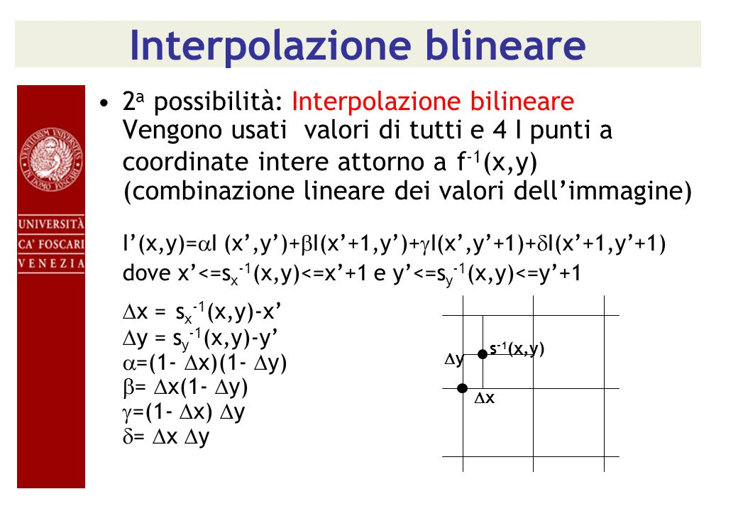 Interpolazione blineare