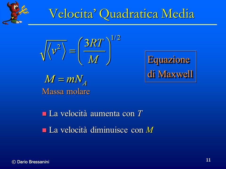 Velocita' Quadratica Media