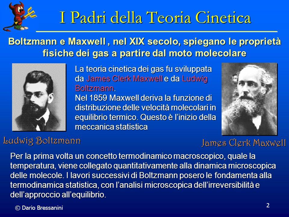 I Padri della Teoria Cinetica