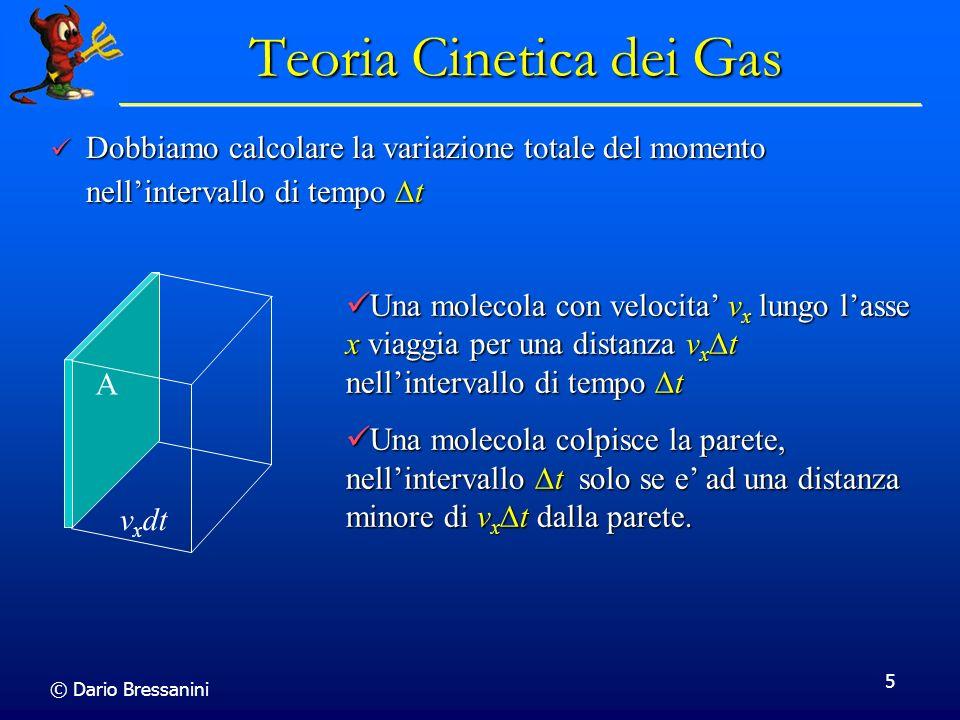 Teoria Cinetica dei Gas