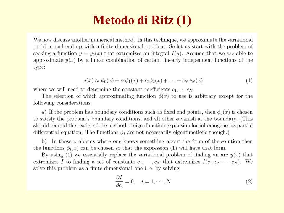 Metodo di Ritz (1)