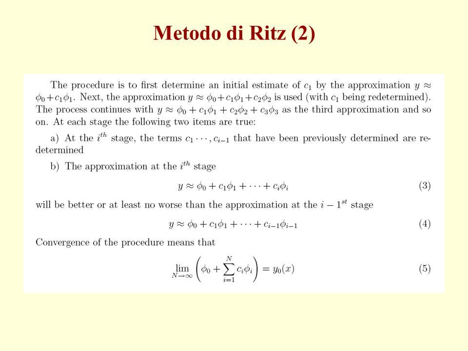 Metodo di Ritz (2)