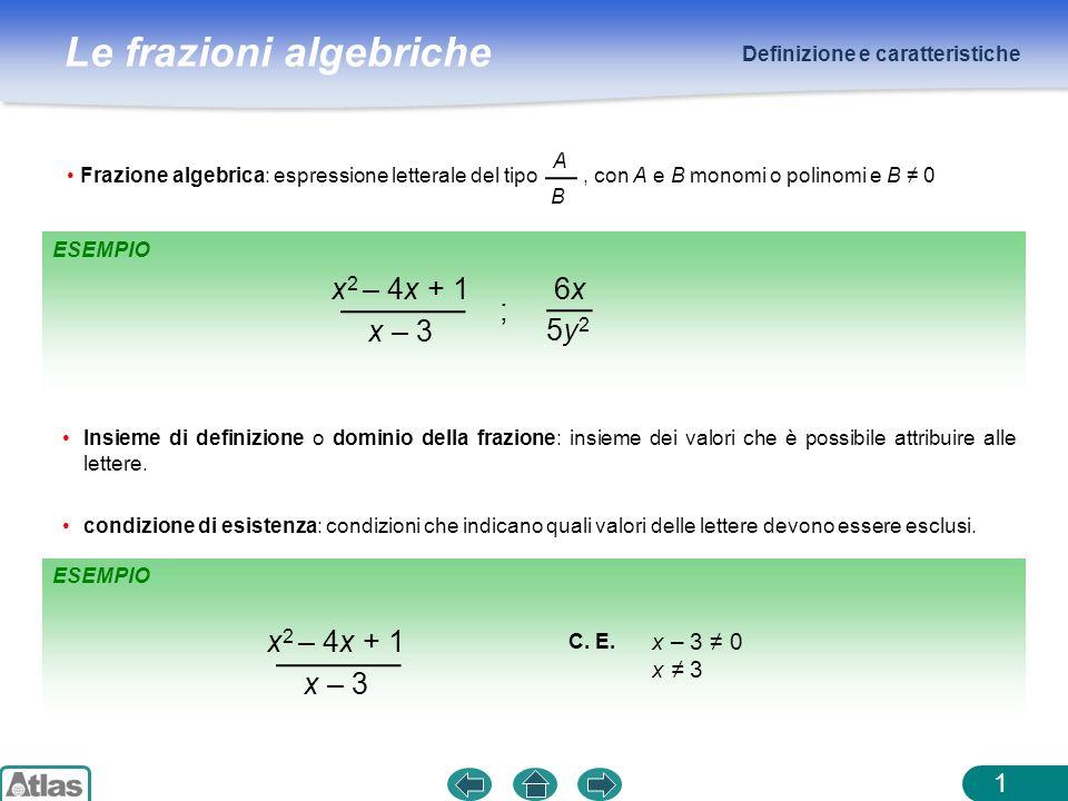 x2 – 4x + 1 x – 3 6x 5y2 ; x2 – 4x + 1 x – 3 x – 3 ≠ 0 x ≠ 3