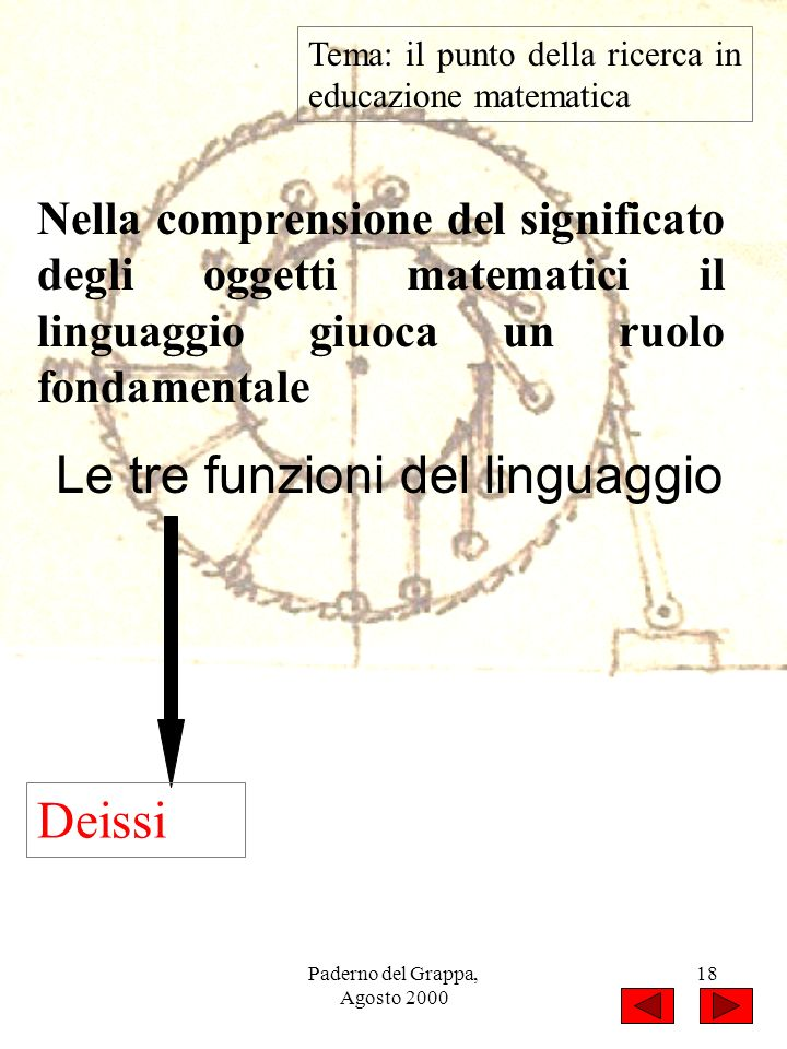 Le tre funzioni del linguaggio