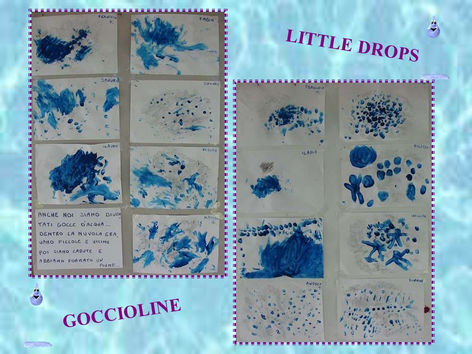 LITTLE DROPS GOCCIOLINE