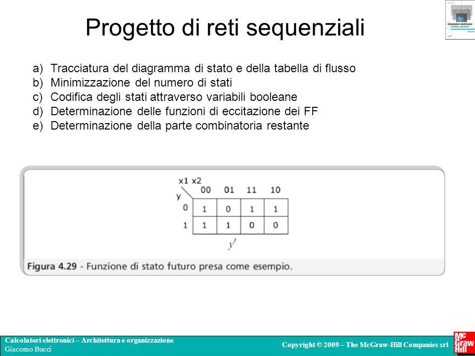 Progetto di reti sequenziali
