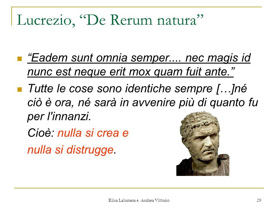 Lucrezio, De Rerum natura