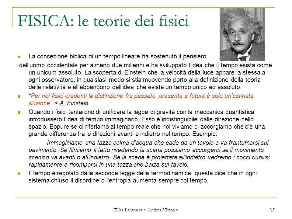 FISICA: le teorie dei fisici