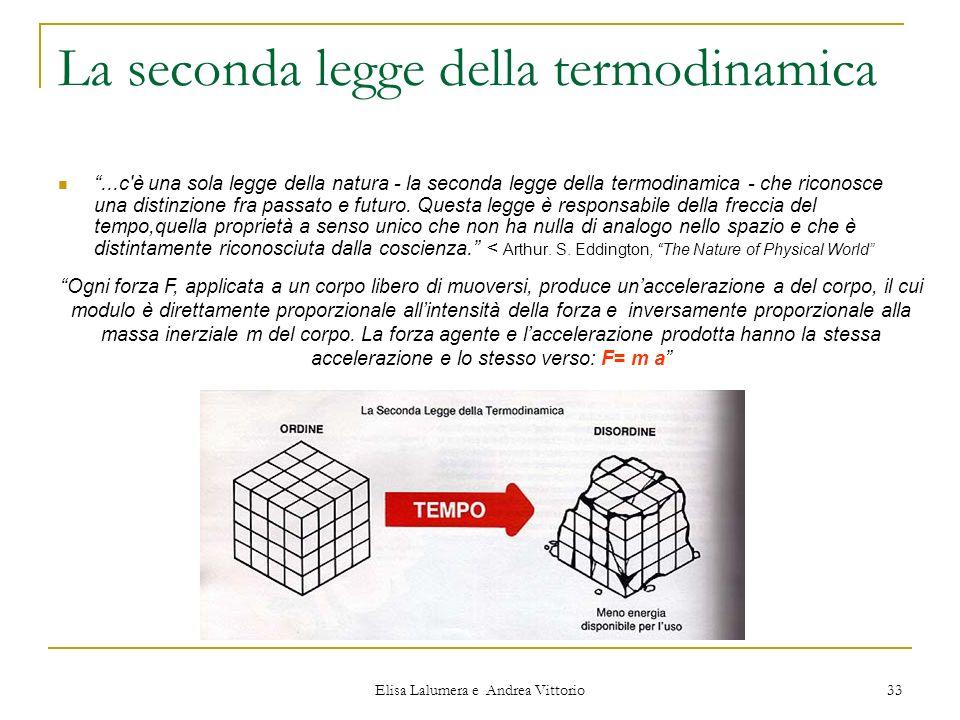 La seconda legge della termodinamica