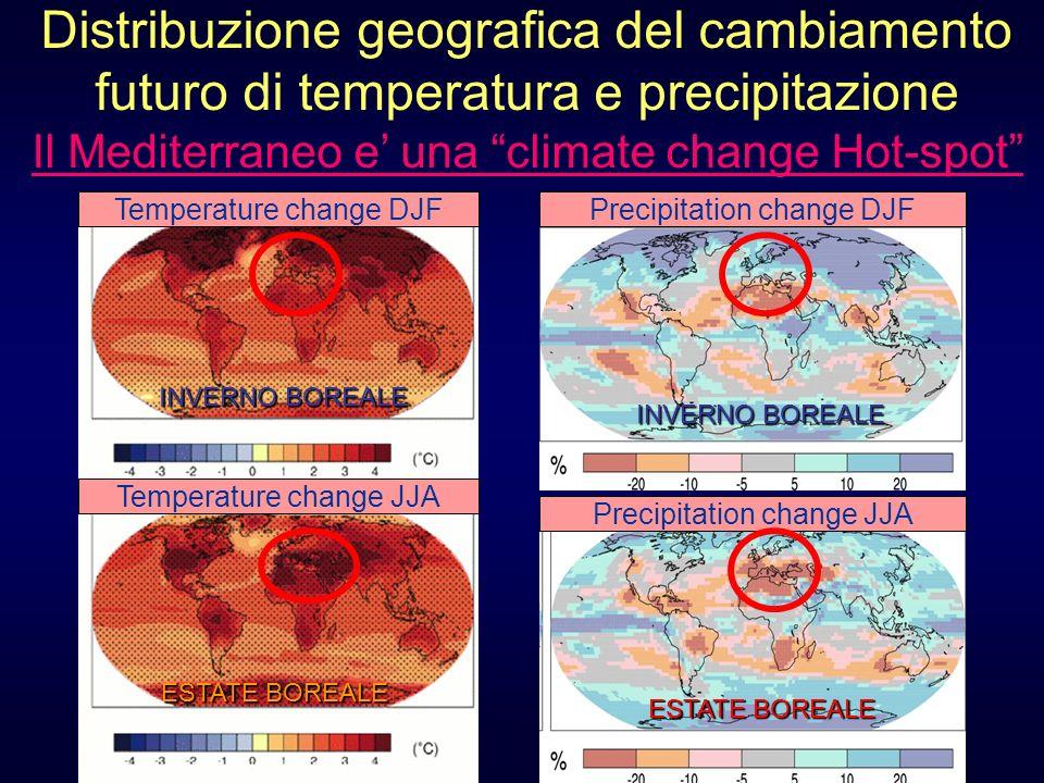 Distribuzione geografica del cambiamento