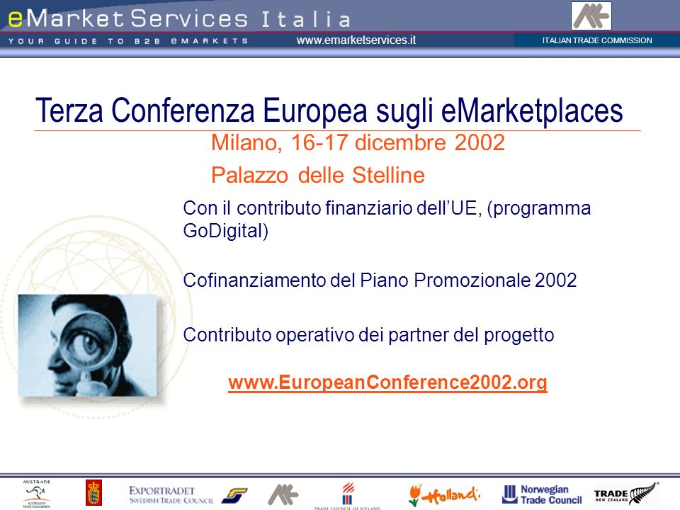Terza Conferenza Europea sugli eMarketplaces