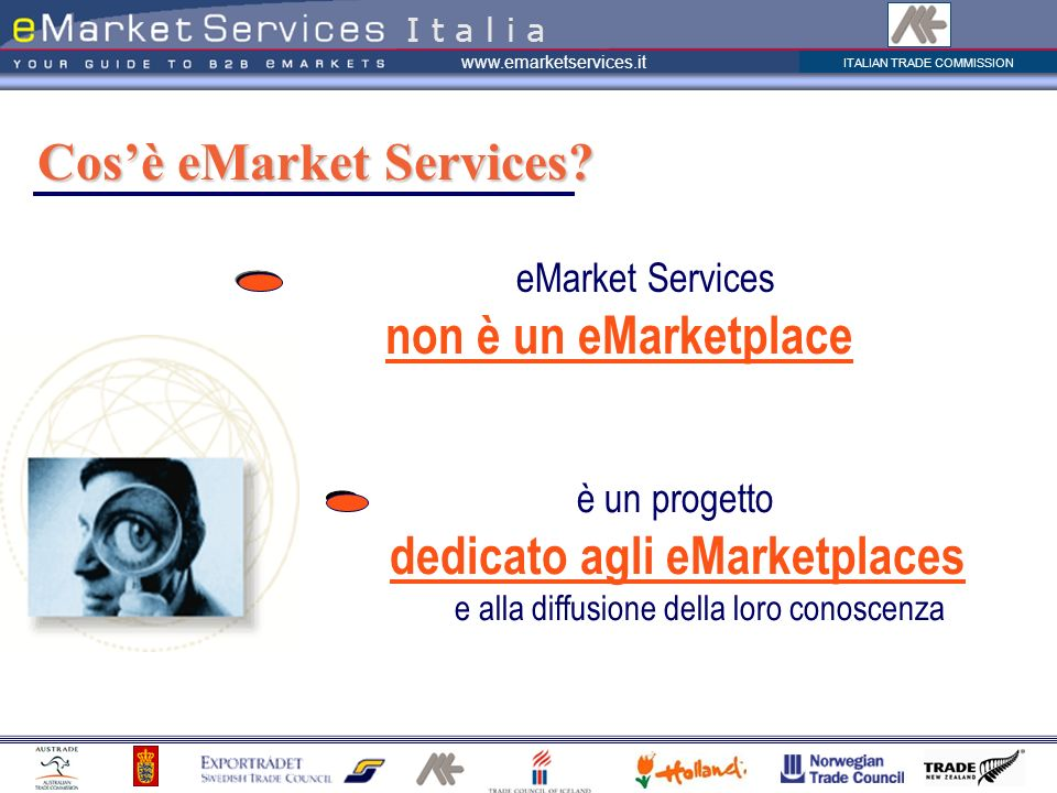 Cos'è eMarket Services