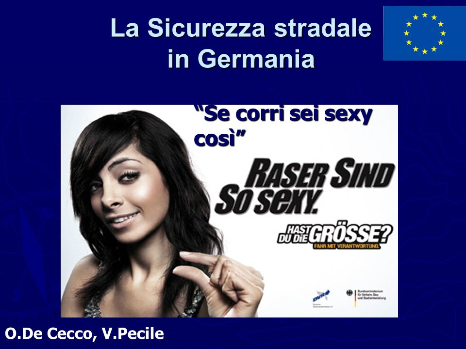 La Sicurezza stradale in Germania