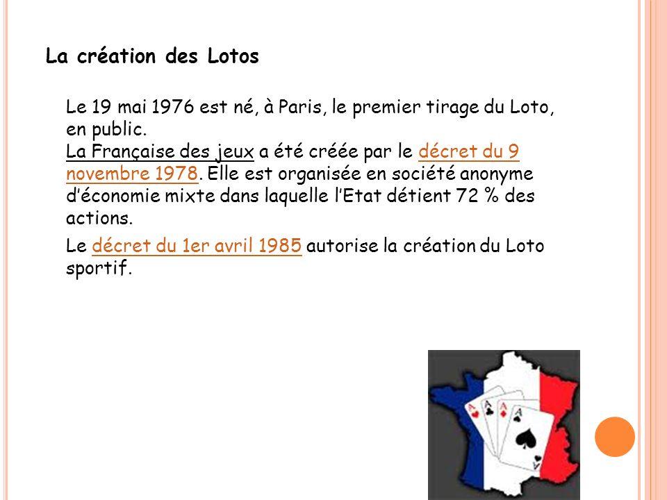 La création des Lotos