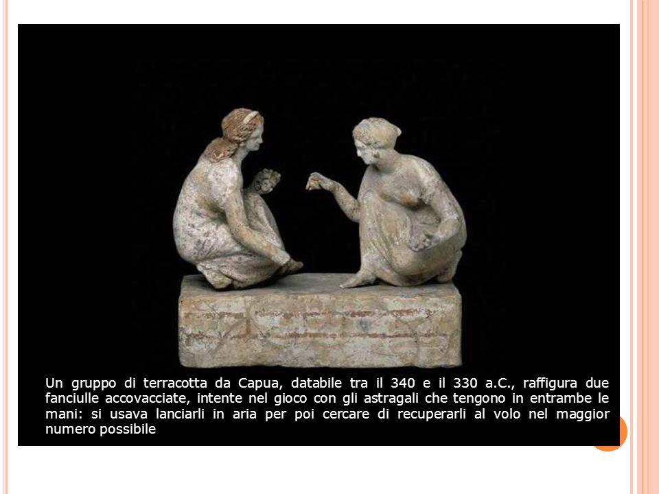 Un gruppo di terracotta da Capua, databile tra il 340 e il 330 a. C