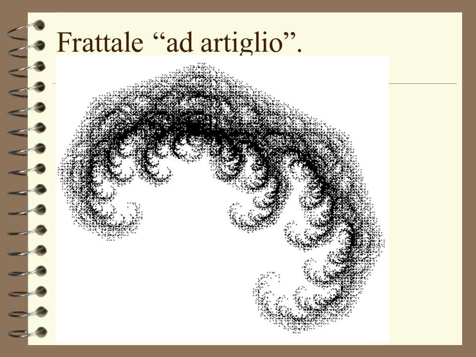 Frattale ad artiglio . (uso di Mathematica)