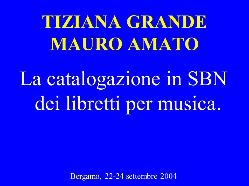 TIZIANA GRANDE MAURO AMATO