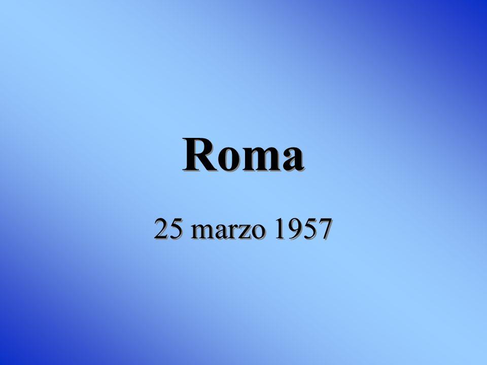 Roma 25 marzo 1957