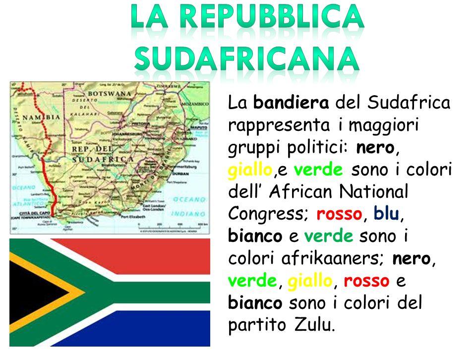 LA REPUBBLICA SUDAFRICANA