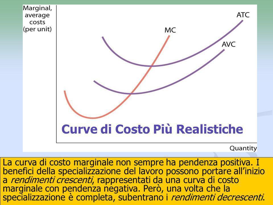Curve di Costo Più Realistiche