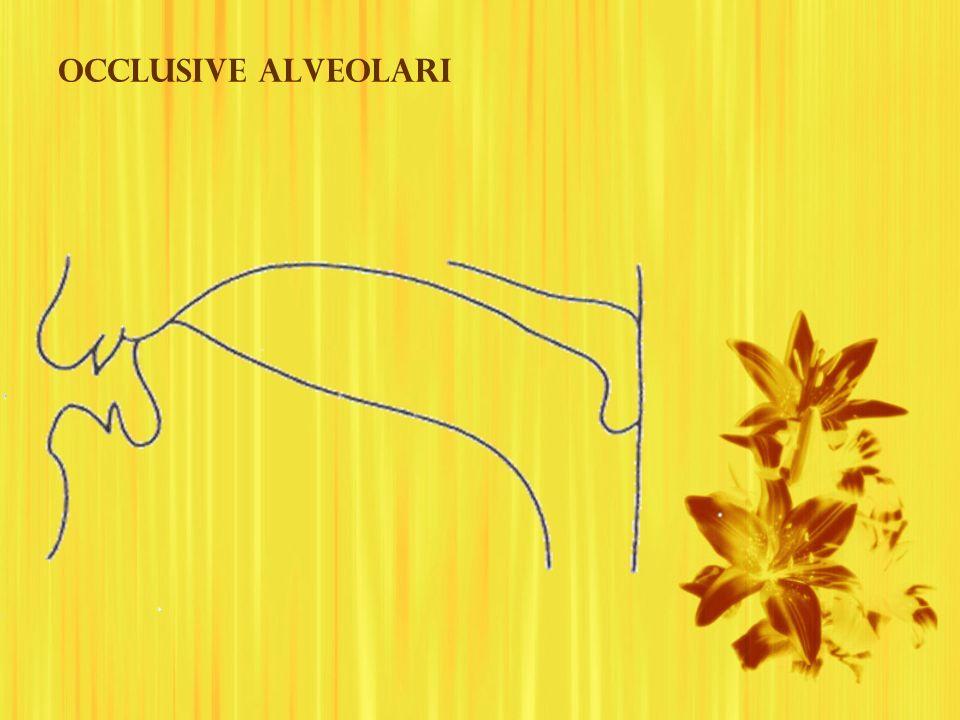 Occlusive alveolari