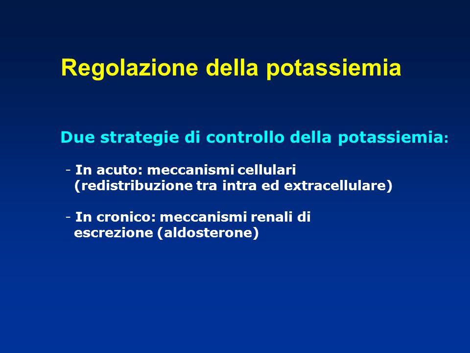 Regolazione della potassiemia