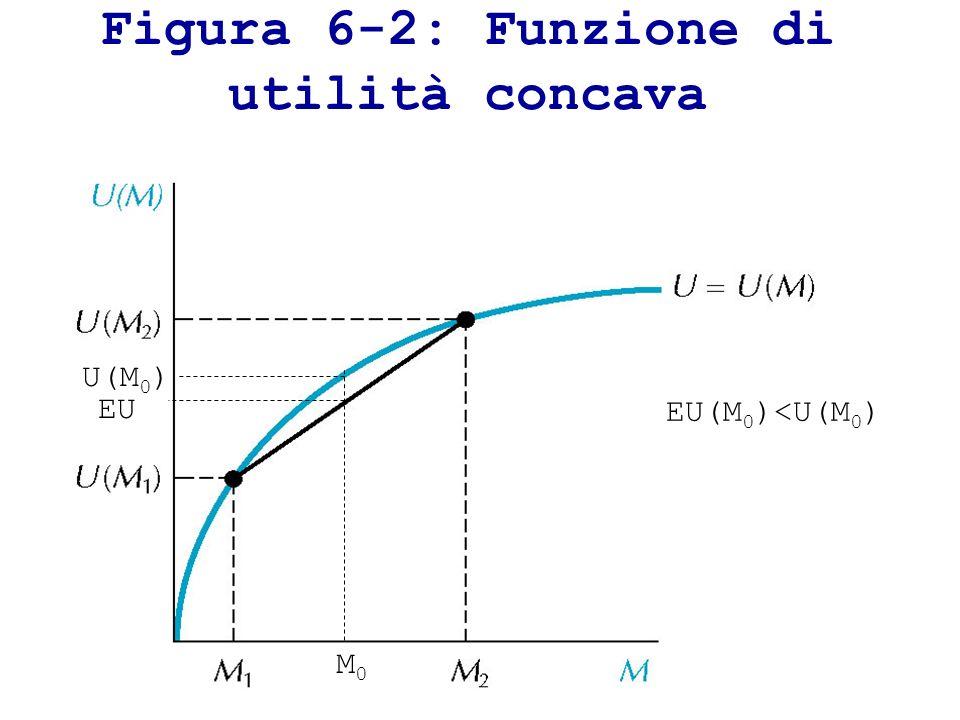 Figura 6-2: Funzione di utilità concava