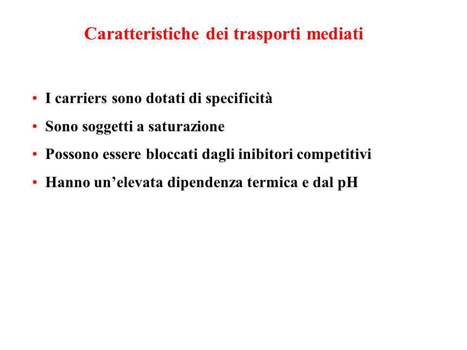 Caratteristiche dei trasporti mediati
