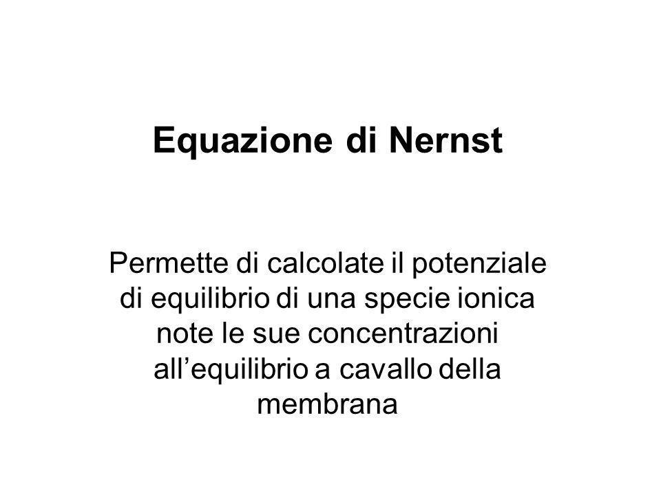 Equazione di Nernst