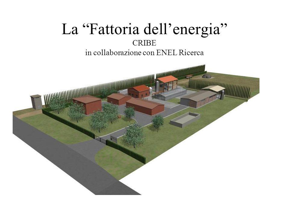 La Fattoria dell'energia CRIBE in collaborazione con ENEL Ricerca