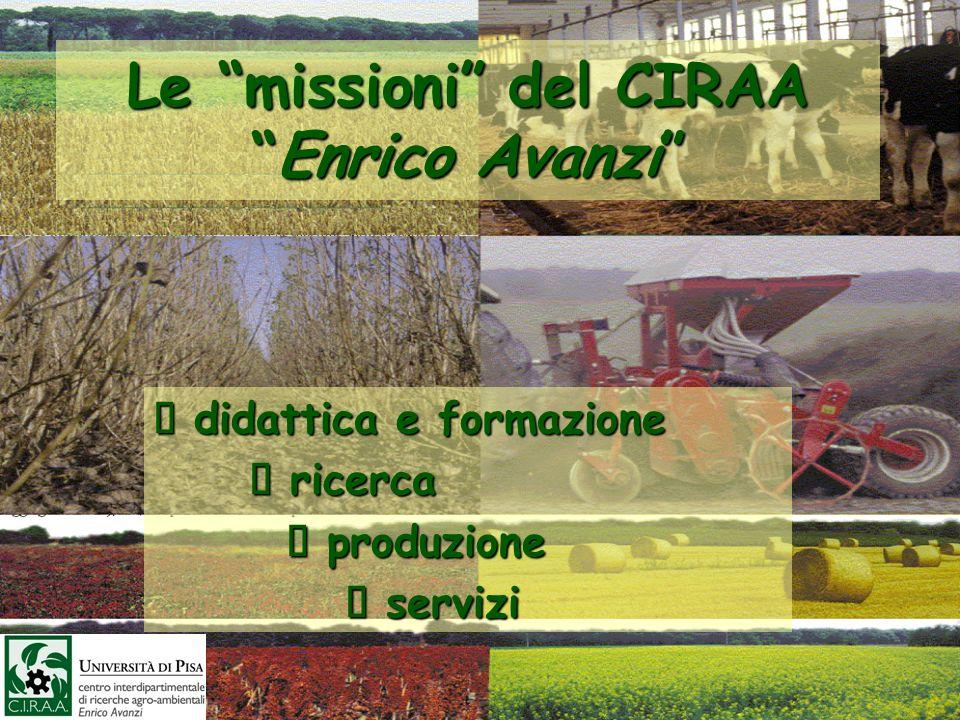 Le missioni del CIRAA Enrico Avanzi