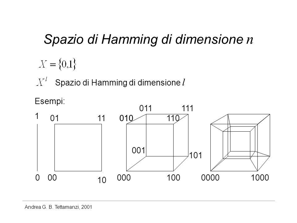 Spazio di Hamming di dimensione n