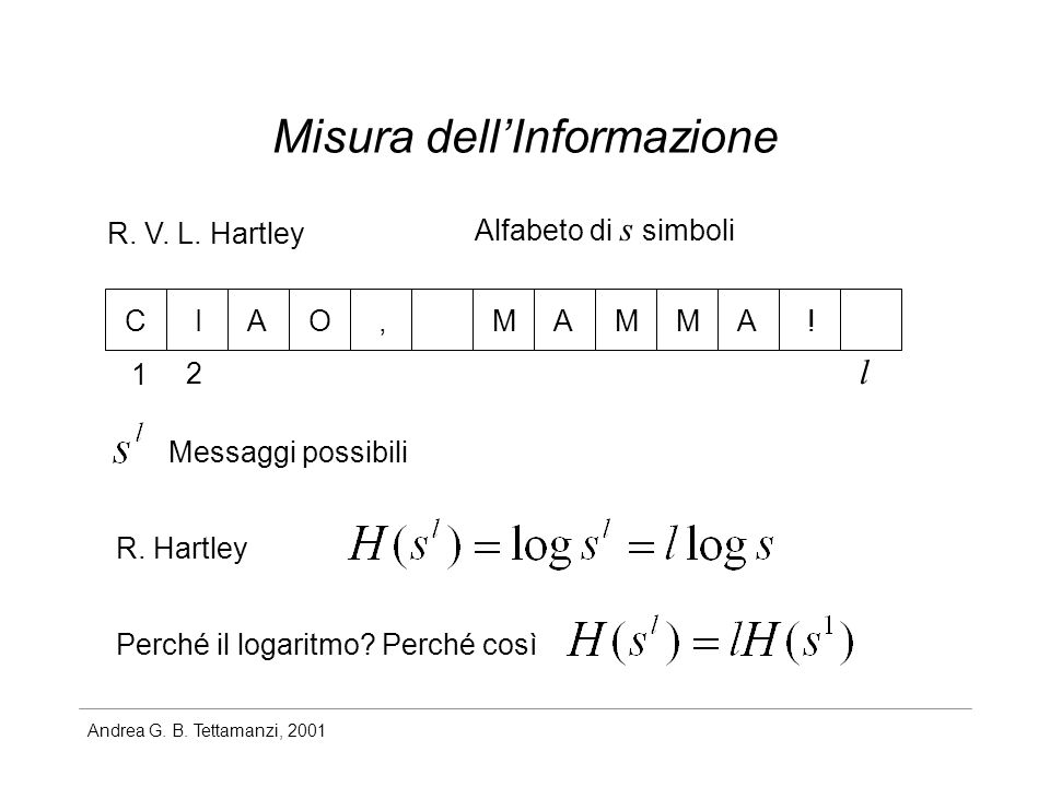 Misura dell'Informazione
