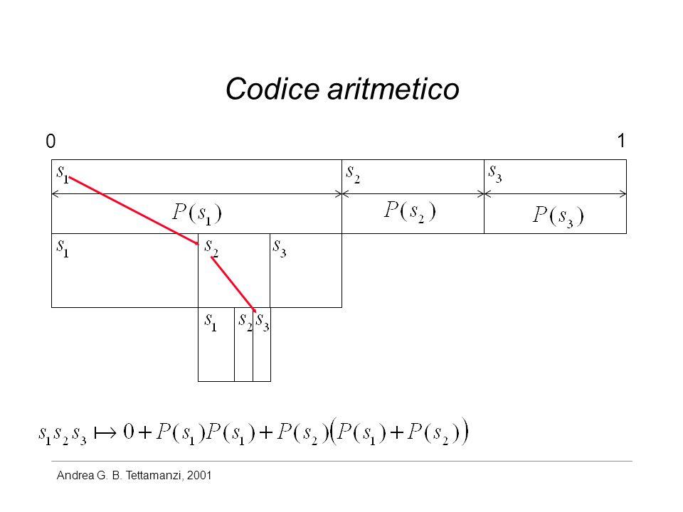 Codice aritmetico 1