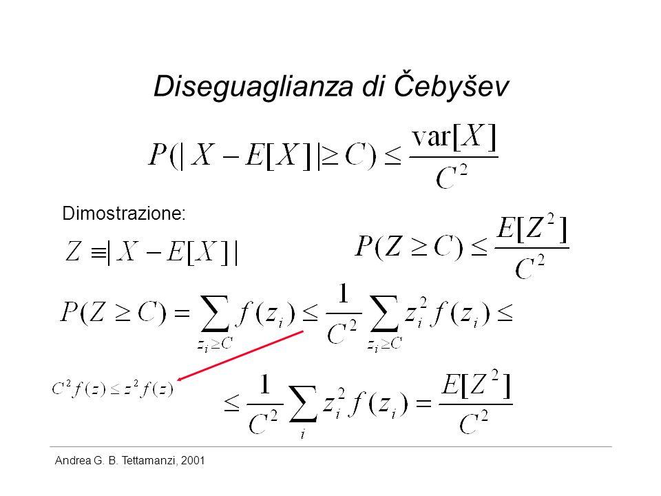 Diseguaglianza di Čebyšev