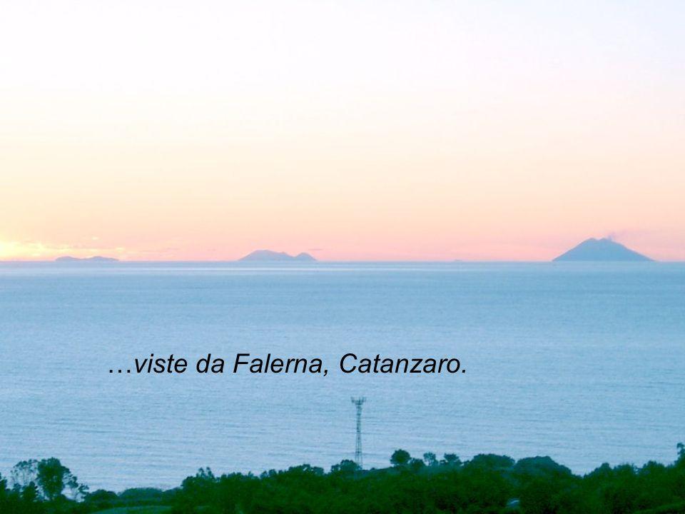 …viste da Falerna, Catanzaro.
