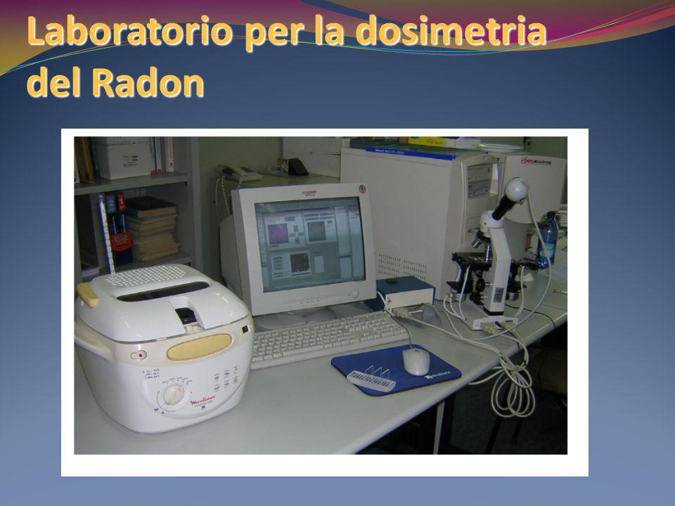 Laboratorio per la dosimetria del Radon