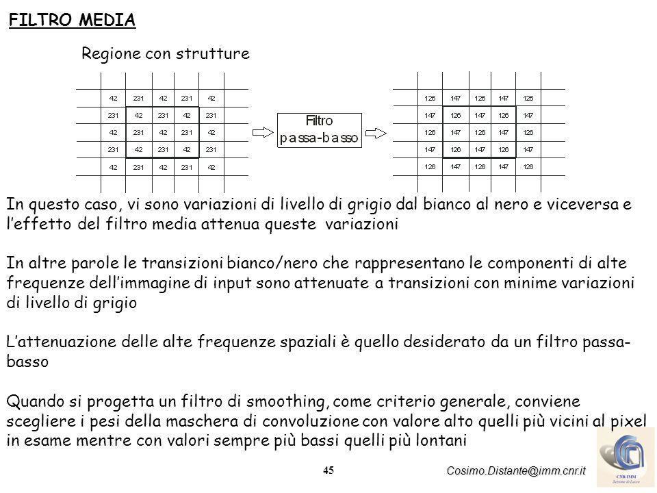 FILTRO MEDIA Regione con strutture.
