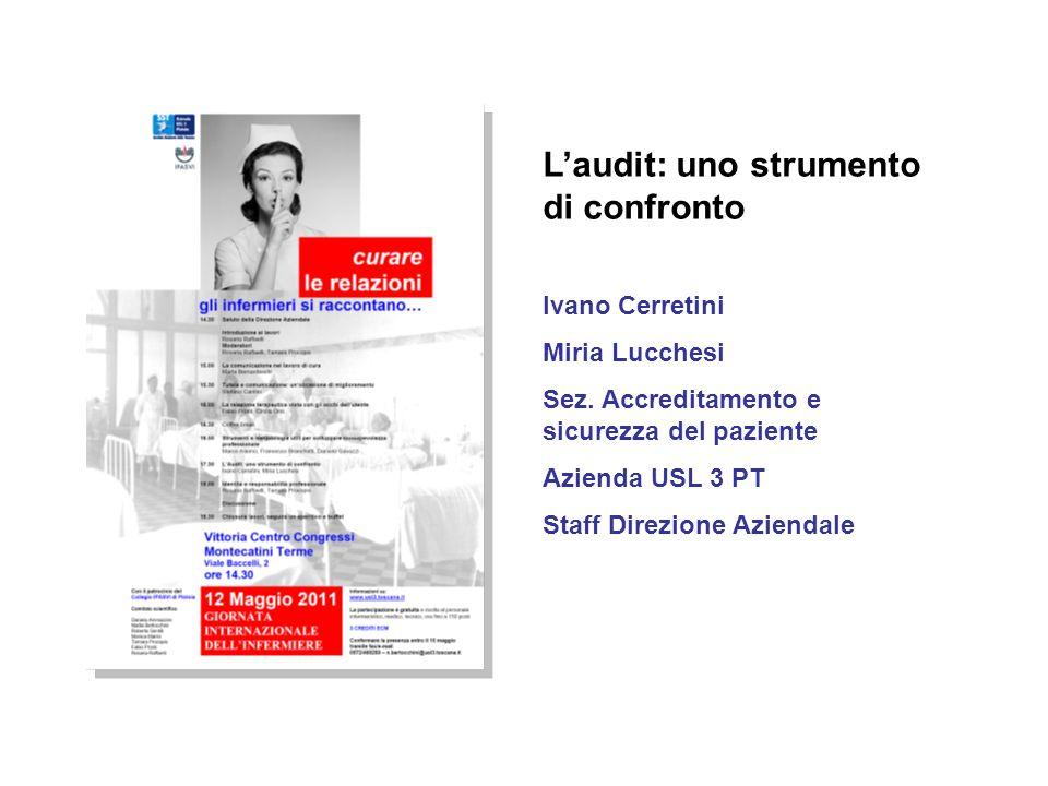 L'audit: uno strumento di confronto