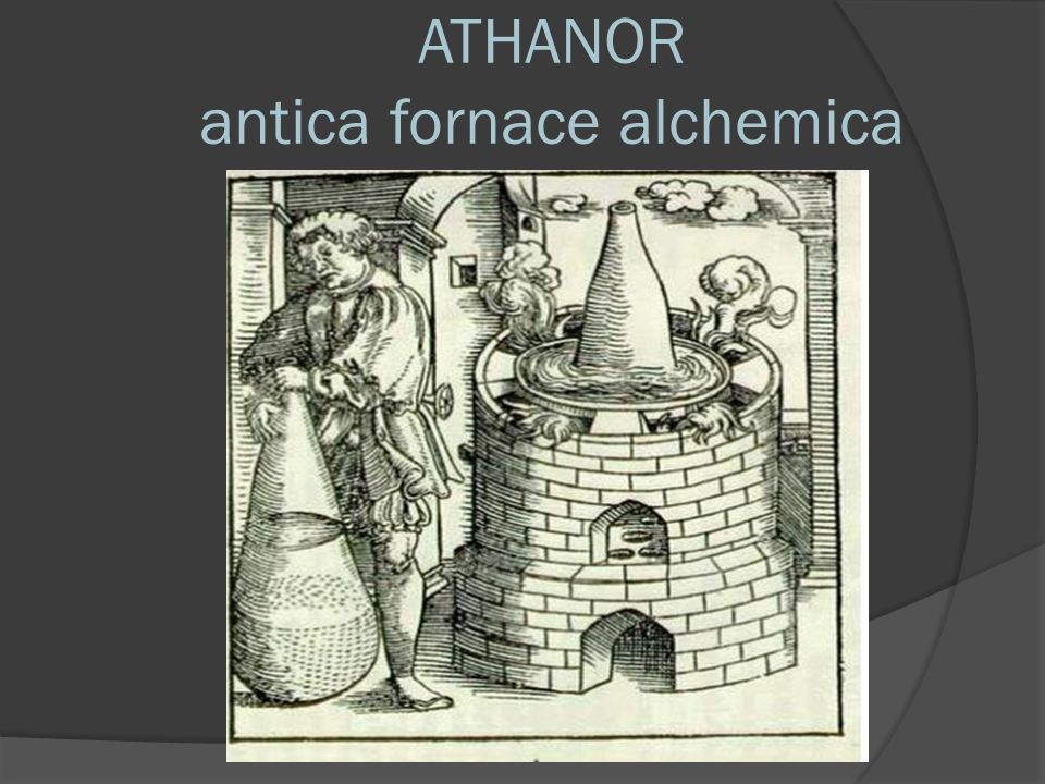 ATHANOR antica fornace alchemica