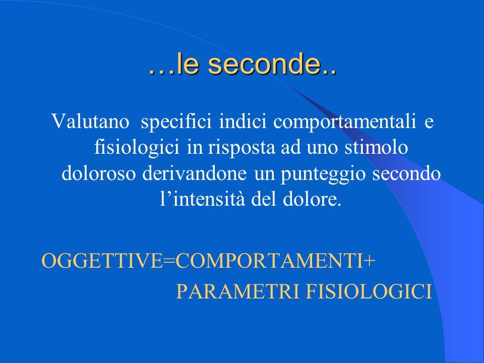 …le seconde..