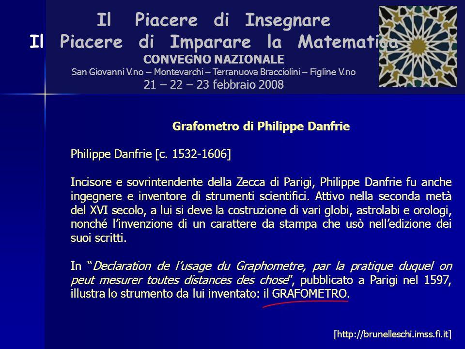 Grafometro di Philippe Danfrie