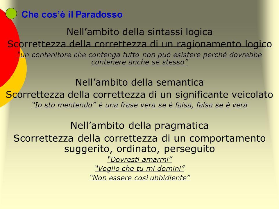 Nell'ambito della pragmatica