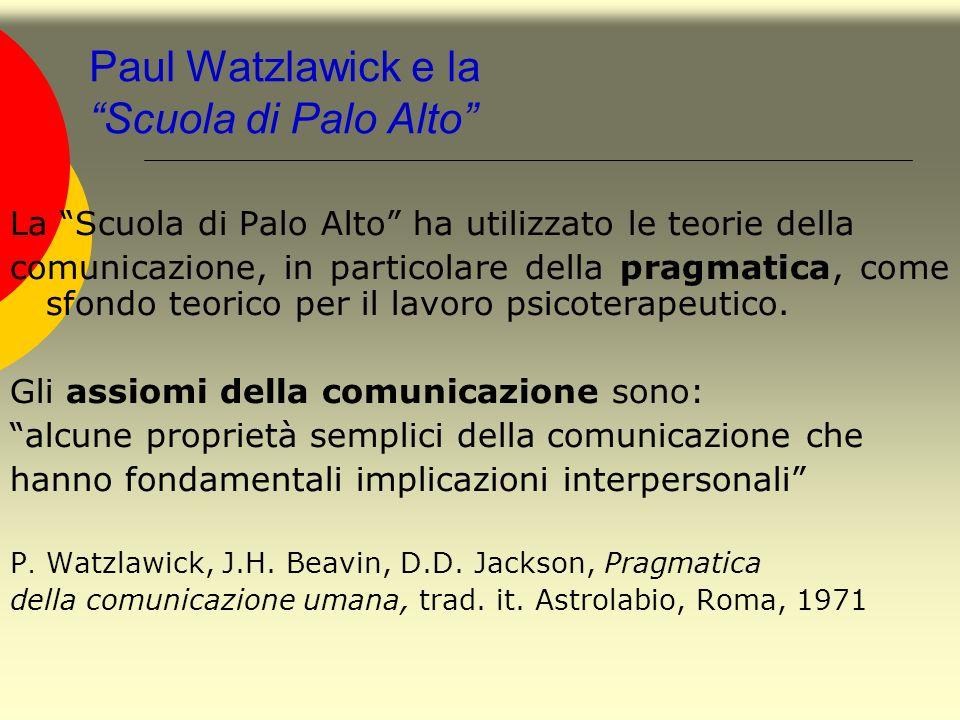 Paul Watzlawick e la Scuola di Palo Alto