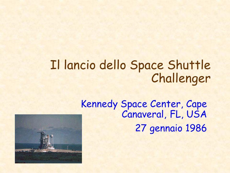 Il lancio dello Space Shuttle Challenger
